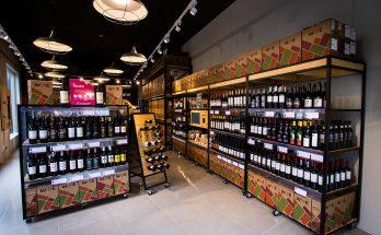 Interior da loja em Curitiba