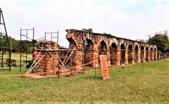 Paraguai restaura missão jesuítica