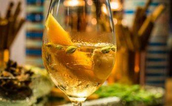 drinks com vinho no verão